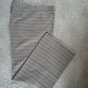 Dana Buchman Plaid Trousers Tall 14